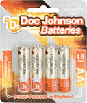 Doc Johnson Batteries - AA 4 Pack