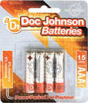 Doc Johnson Batteries - AAA 4 Pack