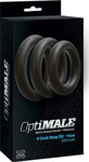 Optimale 3 C-Ring Set Thick - Black
