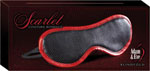 Adam & Eve Scarlet Couture Blindfold