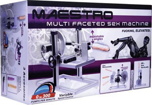 Maestro Deluxe Sex Machine