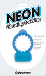 Neon Vibrating Cockring - Blue