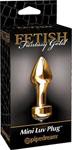 Fetish Fantasy Gold Mini Luv Plug - Gold