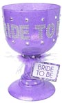 Bride To Be Pimp Cup - Purple