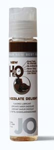 System JO H2o Flavored Lubricant 1 Oz Chocolate