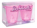 Bachelorette Party Favors Sexy Pecker Shot Glass Set - Pink