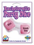Bachelorette Party Dice - Pink