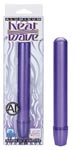 Aluminum Heat Wave Slender Massager - Purple