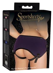 Plus Size Beginner's Strap-On - Purple