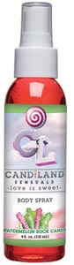 Candiland Sensuals Body Spray - Watermelon - 4 Oz