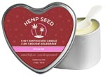 3-In-1 Heart Spoon Me Massage Candle With Hemp - 4.7 Oz.