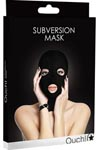 Ouch Subversion Mask 3 Hole Face Mask - Black