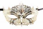 Princess Masquerade Mask Gold