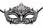 Princess Masquerade Mask Black