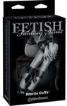 Fetish Fantasy Series Bowtie Cuffs Adjustable - Black