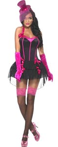 Fever Bow Burlesque Costume - Medium