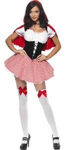 Fever Red Riding Hood Costume - Small