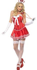Fever Boutique Nurse Costume - Medium