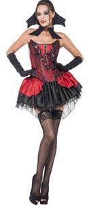 Fever Seductive Vamp Costume - Medium