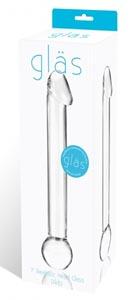 Realistic Head Glass Dildo 7