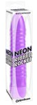 Neon Ribbed Rocket - Purple