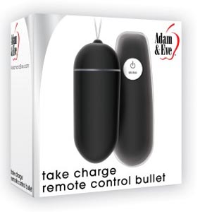 Adam and Eve Take Charge Remote Control Bullet