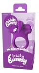Ohhh Bunny Frisky Bunny Vibrating Ring - Perfectly Purple
