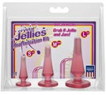 Crystal Jellies Anal Initiation Kit - Pink