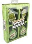 Cupcake Set - Cannabis Wrappers and Toppers