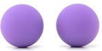 Carrie Silicone Kegel Balls - Neon Purple