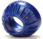 Turbine Pusher Cockring - Blue Balls