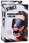 Blindfold Harness + Ball Gag