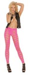 Pothole Leggings - Neon Pink - One Size