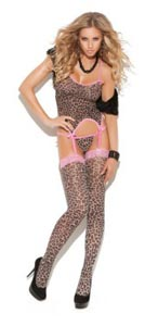 3 Pc Camisette Set - Leopard - One Size