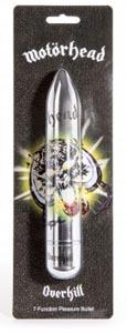 Motorhead Overkill 7 Function Power Classic Vibrator - Silver