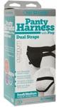 Vac- U- Lock Panty Harness With Plug - Dual Strap - S/ M