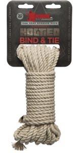 Bond & Tie Hemp Bondage Rope - 30 Ft.