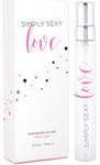 Simply Sexy Love Pheromone Infused Perfume - 0.34 Oz.