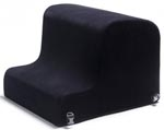 Liberator Obeir Spanking Bench - Microfiber Midnight Black