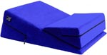 Liberator Wedge/Ramp Combo - Microfiber Sapphire Blue