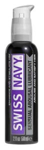 Swiss Navy Sensual Arousal Lubricant - 2 Oz.