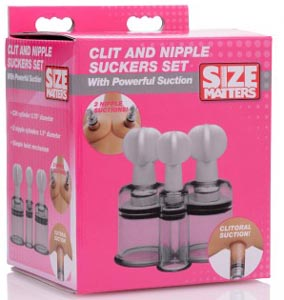 Clit and Nipple Suckers Set