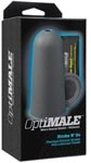 Optimale Stroke n' Go Premium Silicone Stroker With Lubricant Packet - Slate