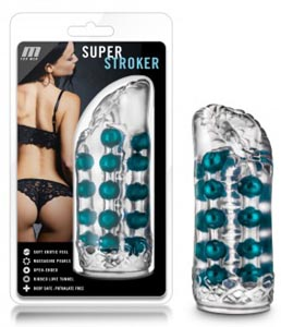 M for Men Super Stroker - Clear