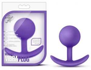 Luxe Wearable Vibra Plug - Purple