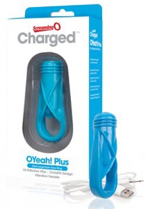 Charged O Yeah! Plus Ring - Blue