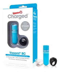 Charged Vooom Remote Control Bullet - Blue