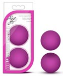 Luxe Double O Beginner Kegel Balls - Pink