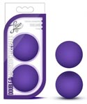 Luxe Double O Advanced Kegel Balls - Purple