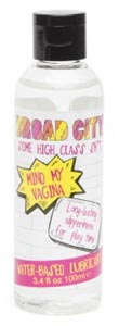 Broad City Mind My Vagina Water Based Lube - 3.4 Fl. Oz. / 100 ml